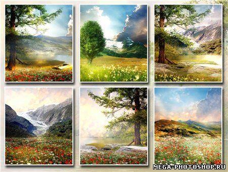 Картинки фотошопа бесплатно природа