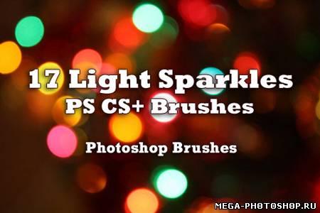 Кисти для фотошопа блики света