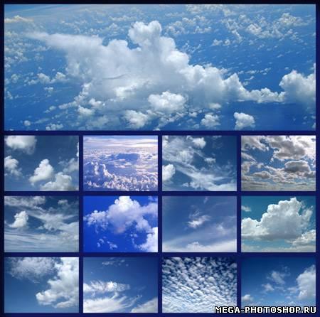 Фоны для фотошопа небо облака
